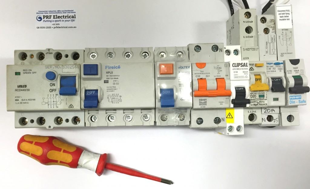 RCD Safety Switch Installation Perth | PRF Electrical Services