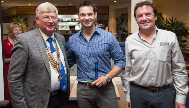 Patrik Iwanowski - winner of the prestigious Rotary Club of Fremantle's Pride of Workmanship Award