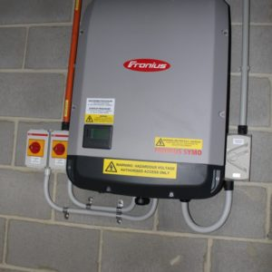 Fronius 10kw solar inverter Garden City 2015