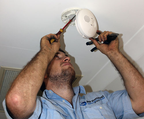 PRF Electrical - smoke detector
