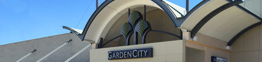 Garden City Upper deck carpark new LED lighting