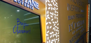 L'Occitane fit out at Claremont Quarter