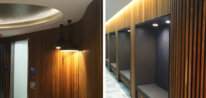 South Link Amenities - lighting